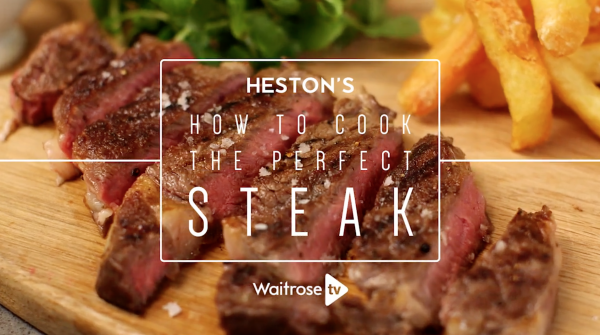 Heston's How to cook the perfect steak