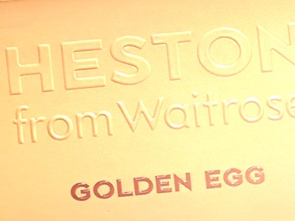 Heston's Golden Egg