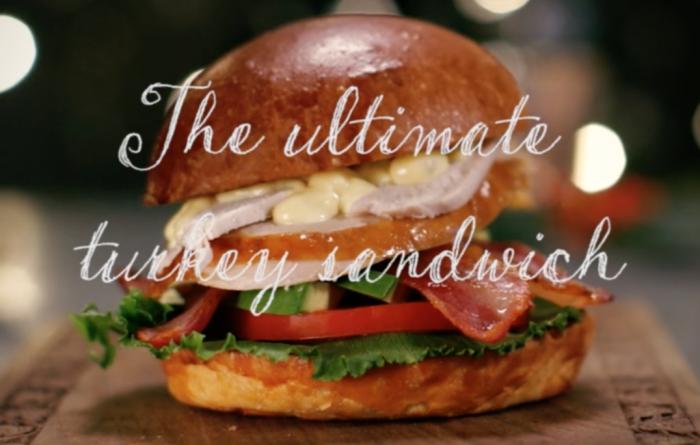 Ultimate turkey sandwich