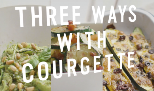 Three ways with courgettes… and more