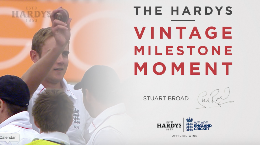 The Hardys Vintage Milestone Moment | Stuart Broad