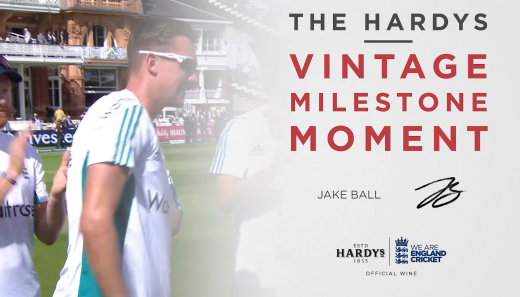 The Hardys Vintage Milestone Moment | Jake Ball