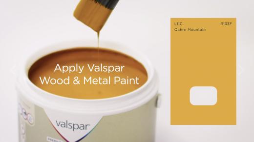 How To… Valspar Paint