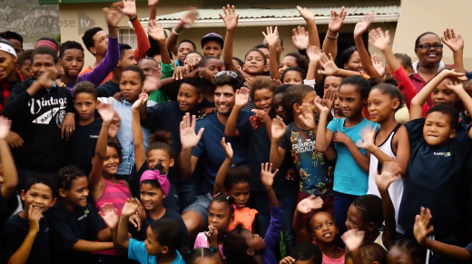 Alastair Cook visits Waitrose Foundation projects in South Africa