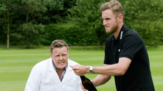 Hardys Pop The Cork | Stuart Broad