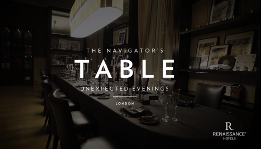 The Navigator's Table Global Dinner Series