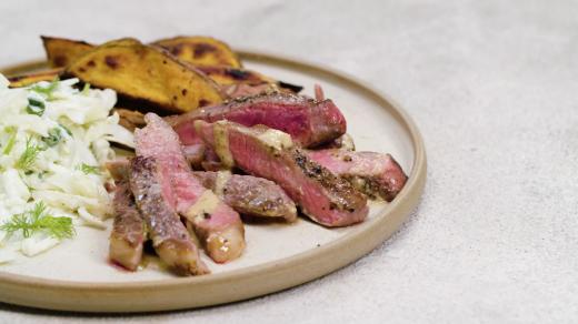 Beautifully Simple steak