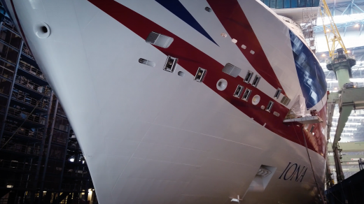 Iona joins the P&O Cruises' family