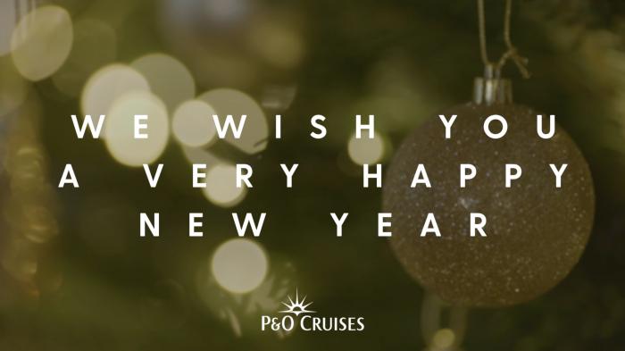 P&O Cruises presents a Christmas message & fabulous festive feast
