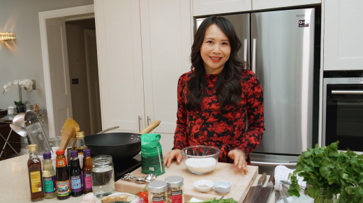 At Home with Ching-He Huang