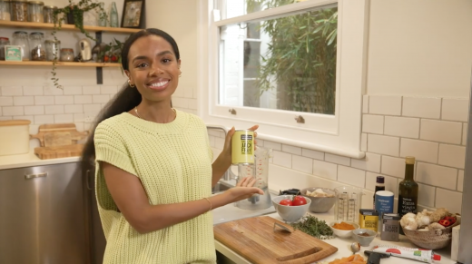 At Home | Rachel Ama's Curried Jackfruit